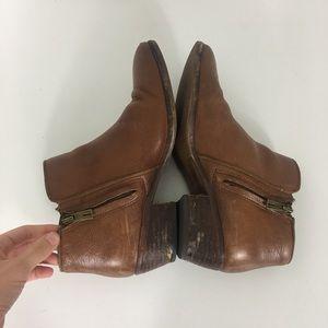 Sam Edelman Shoes - Sam Edelman Brown Leather Booties